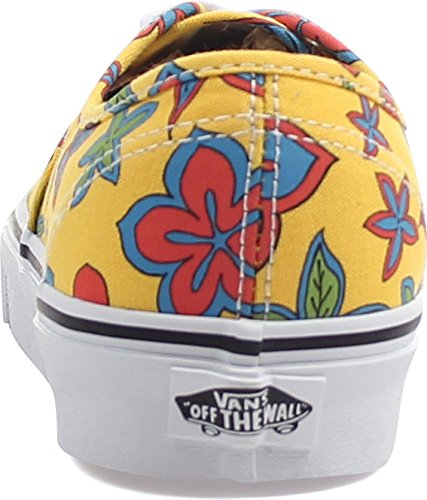 Vans Women's Ua Authentic Low-Top Sneakers (Freshness) Floral/Yellow free shipping 100% guaranteed with mastercard cheap price genuine cheap price cheap cheap online discount lowest price NAD1BZe8