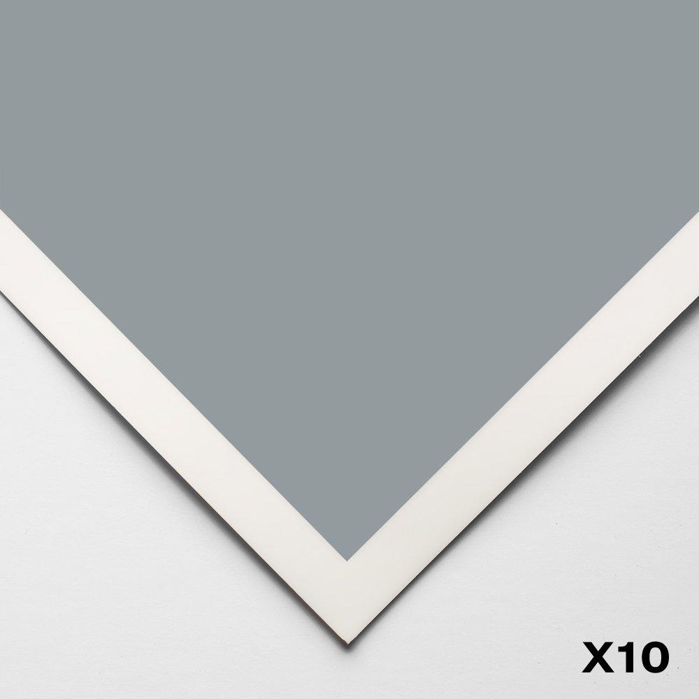 Art Spectrum   Colourfix Smooth   Pastel Paper   50x70cm   blu Haze   Pack of 10