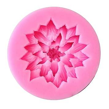 WDYJMALL Lotus - Molde de silicona para fondant, diseño de flor de loto: Amazon.es: Hogar