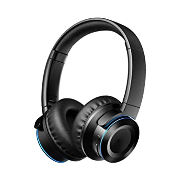 XHN Auriculares inalámbricos de música, Bluetooth 5.0 Auriculares ...