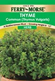 Ferry-Morse 1389 Thyme Herb Seeds (250 Milligram Packet) (Discontinued by Manufacturer), Appliances for Home
