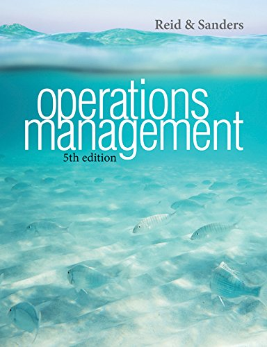 Operations Management 5e + WileyPLUS Registration Card