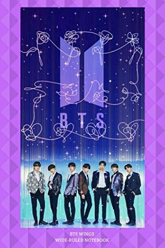BTS Wings Wide-Ruled Notebook