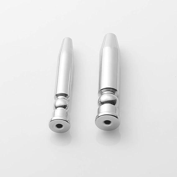 Amazon.com: Dilatador uretral de sondeo uretral del sondeo uretral del enchufe del pene del sonido del catéter uretral del Acero inoxidable, tamaño Grande: ...