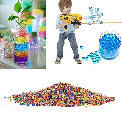 AFUNNY Water Beads 2 Boxes and 1 Bag Weight of 14 OZS 95.000 Beads Crystal Soil Gel for Refill Vase Filler Sensory Toys