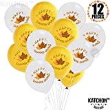 Happy Thanksgiving Balllons with Maple L...