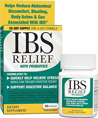 IBS Relief Peppermint Free Supplement Discomfort