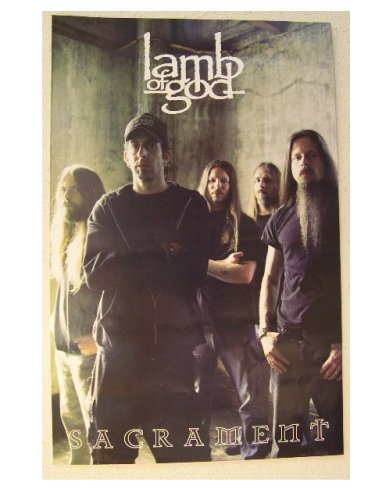 Lamb Of God Poster Band Shot Sacrament