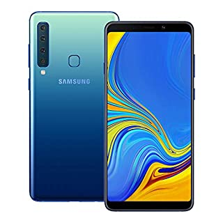 Samsung Galaxy A9 2018 (SM-A920F/DS) 6GB / 128GB 6.3-inches LTE Dual SIM Factory Unlocked - International Stock No Warranty (Lemonade Blue)