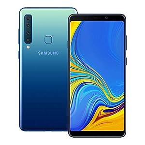 Samsung Galaxy A9 2018 (SM-A920F/DS) 6GB / 128GB 6.3-inches LTE Dual SIM Factory Unlocked – International Stock No Warranty (Lemonade Blue)