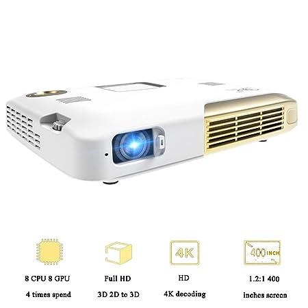HZYYZH El proyector DLP 3D admite la reproducción de ...