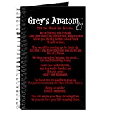 CafePress - Grey's Anatomy Quotes Journal - Spiral Bound Journal Notebook, Personal Diary, Lined
