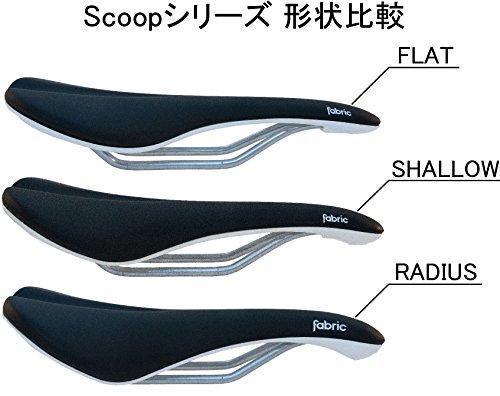Fabric Scoop Elite Flat Saddle: Black/White by Fabric & Fabric (Image #4)