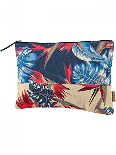 Barts-Funda de tela, algodón, diseño estampado, color azul, 22 x 33 Barts mujer modelo y adolescente Azul