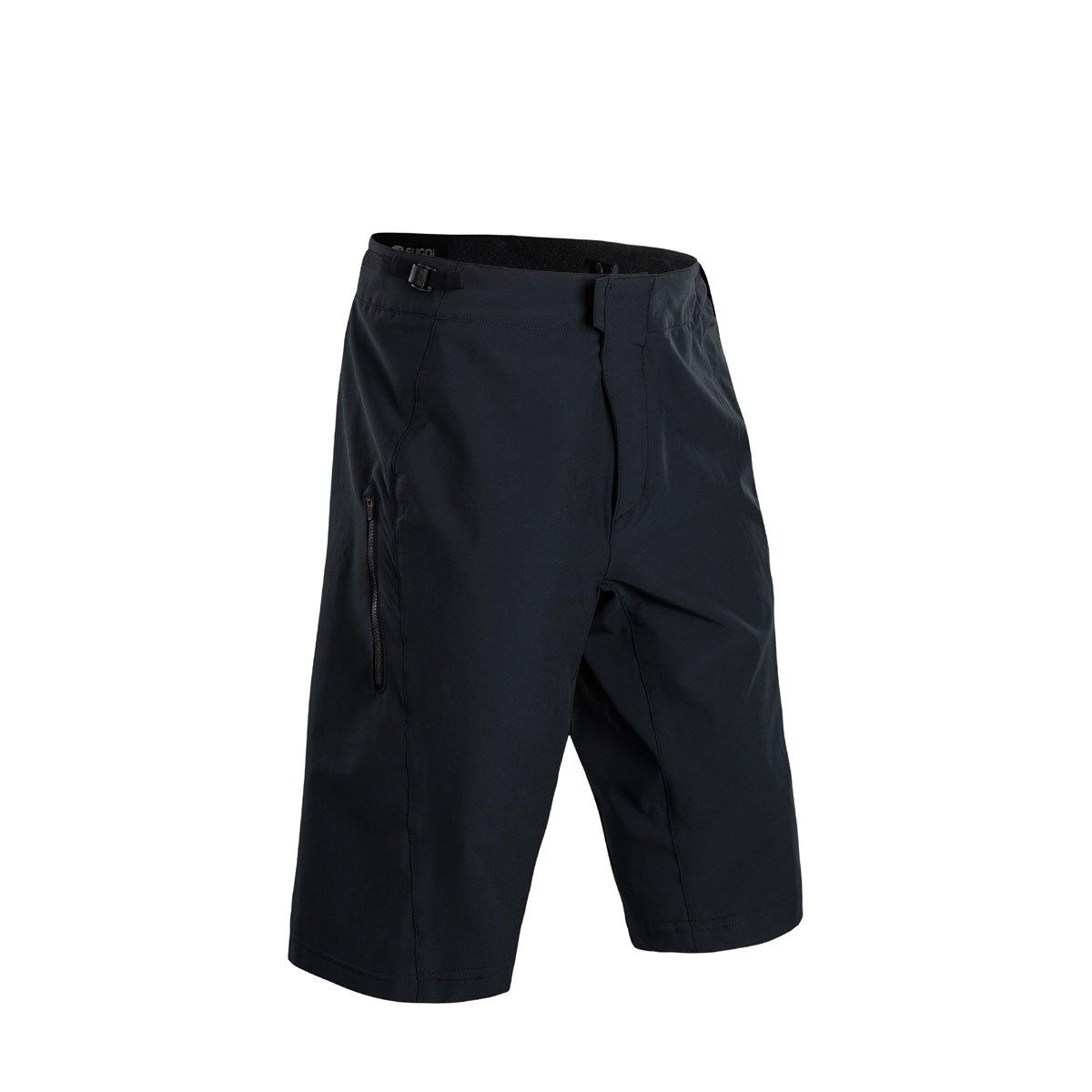 Sugoi トレイルショーツ メンズ Medium ブラック B06X6GBZDX