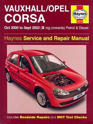 buy vauxhall opel corsa petrol and diesel service and repair manual rh amazon in Haynes Repair Manual 1991 Honda Civic Haynes Repair Manuals Online