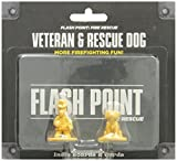 Flash Point Fire Rescue Expansion: Veteran and Rescue Dog Pack by Indie Boards & Cards