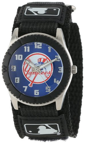 Game Time Youth MLB Rookie Black Watch - New York Yankees (Top Hat Logo)