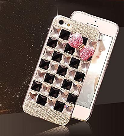 dp crystal com luxury case diamond rhinestone iphone bling plus amazon