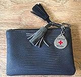 Epipen Inside Medical Alert Bag Tag Keyring