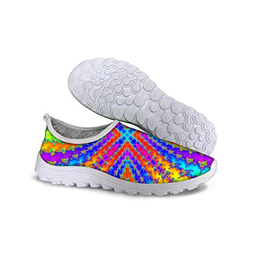 FOR U Mesh Sneaker DESIGNS Breathable Running 2 Shoes Vintage Multi Women's rAxrXqd
