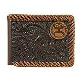 Hooey Brand Hooey Signature Brown TooledBifold Wallet - 1779161W9