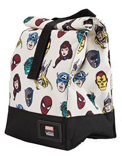 e2deb9611b3 Vans Lunch Bag Marvel Heads Insulated Lunch Box