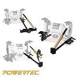 POWERTEC 71021 Bench Grinder Sharpening Jig Kit, 4-In-1
