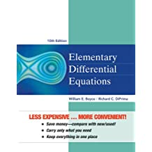Elementary Differential Equations 10e Binder Ready Version + WileyPLUS Registration Card