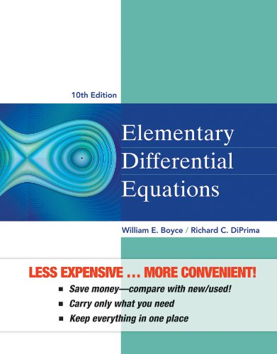 Elementary Differential Equations, Binder Ready Version