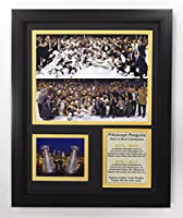 "2016-2017 Pittsburgh Penguins - Back to Back Stanley Cup Champions - Framed 12""x15"" Double Matted Photos - Legends Never Die, Inc."