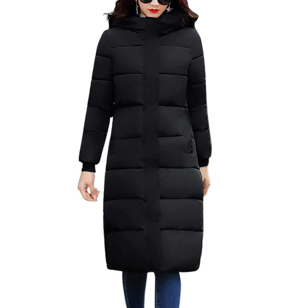 Brille Print Mit Kapuze verdickte Baumwolle gefütterte Jacke Mantel für Frauen