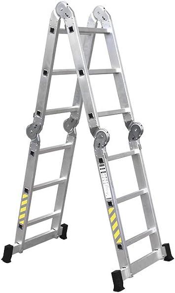 Cofan 09401060 Escalera multiusos con 4x3 peldaños, 0.011 V, 3,25 m: Amazon.es: Bricolaje y herramientas