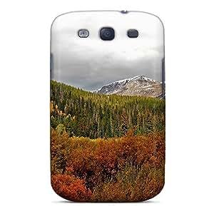 Fashion MEPTULq7437IyZBw Case Cover For Galaxy S3(autumn Mountain Lscape)