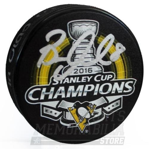 Brian Dumoulin Pittsburgh Penguins Signed Autographed Stanley Cup Champs Puck Your Sports Memorabilia Store