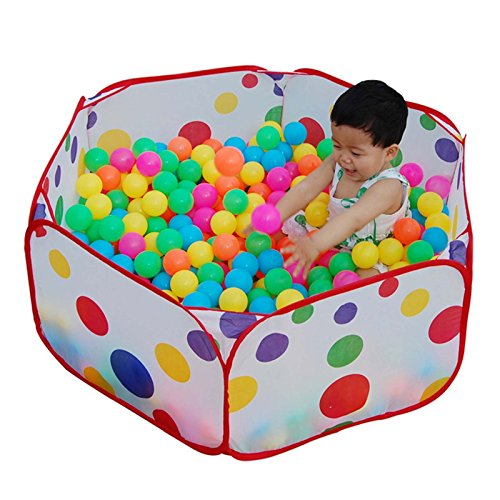 1.2M Portable Hexagon Ocean Ball Pit Pool Toy Tent For Kids - 1