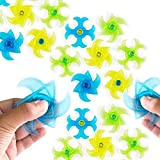 Kyпить Mini Finger Gyro Fidget Spiral Twister Toys Party Pack (24 Pieces) by Super Z Outlet на Amazon.com