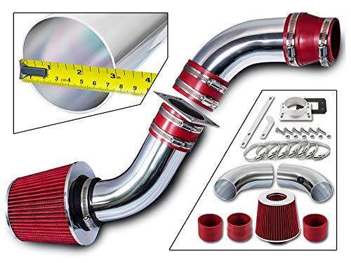 Rtunes Racing Short Ram Air Intake Kit + Filter Combo RED For 98-01 Ford Ranger / 98-01 Mazda B2500 2.5L L4