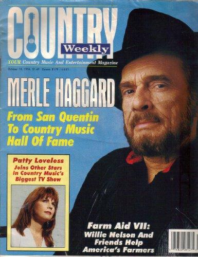 Country Weekly Magazine - Country Weekly Magazine, Vol. 1, No. 28 October 18, 1994)