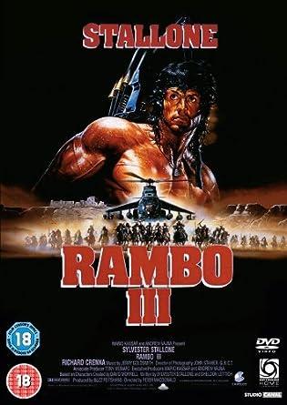 Rambo Iii Dvd Amazon Co Uk Sylvester Stallone Richard Crenna Sylvester Stallone Richard Crenna Dvd Blu Ray