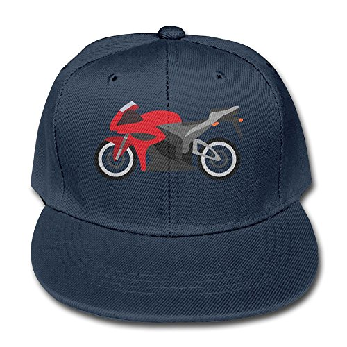 Rhfjgk Ldjg Mesh Baseball Cap Sun Hat Kids Cap Red Motorcycle Adjustable Boys Girls (Driver Knit Cap)