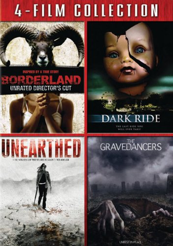 Borderland/ Dark Ride/ Unearthed/ Gravedancers [WS] [4 Film Collection] (Subtitled, Widescreen, 4PC)