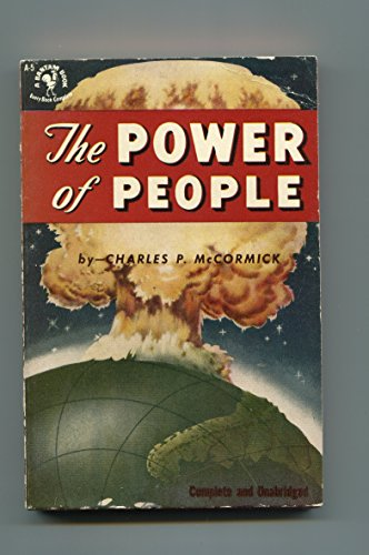 THE POWER OF PEOPLE #A-5 1952-BANTAM-ST PAPERBACK EDITION-A BOMB EXPLOSION-vg/fn