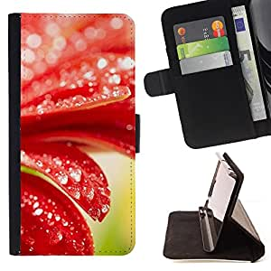 DEVIL CASE - FOR HTC DESIRE 816 - Plant Nature Forrest Flower 98 - Style PU Leather Case Wallet Flip Stand Flap Closure Cover