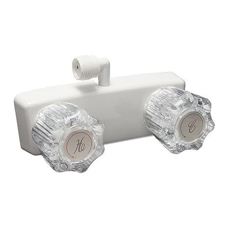 amazon com dura faucet df sa100a1 wt rv shower faucet for exterior