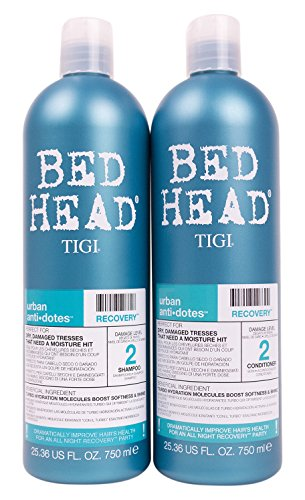 Bed Head Shampoo and Conditioner, Urban Antidotes Recovery, 25.36 Fluid ()
