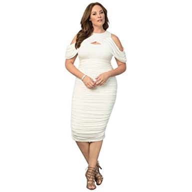 Bianca Ruched Plus Size Mother Of Bridegroom Dress Style 15161802