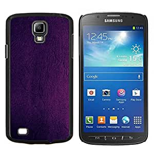 Be-Star Único Patrón Plástico Duro Fundas Cover Cubre Hard Case Cover Para Samsung i9295 Galaxy S4 Active / i537 (NOT S4) ( Peinture pourpre Wall Design Couleur )