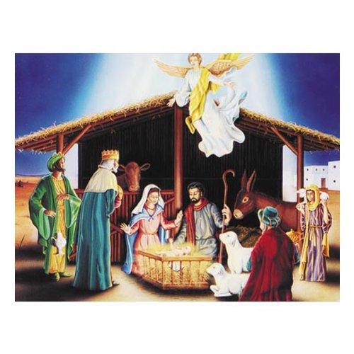 Manger Scene Costumes (Nativity Scene Cutout Party Accessory (1 count) (1/Pkg))