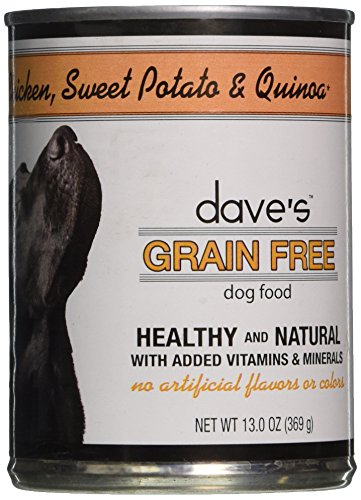 Dave'S Pet Food Chicken Sweet Potato And Quinoa Food (12 Cans Per Case), 13.2 Oz.